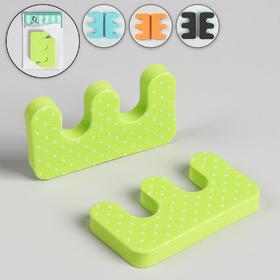 Разделители для пальцев, 2 шт, цвет МИКС