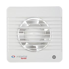 Вентилятор 'ВЕНТС' 100 М Турбо, d=100 мм, 220-240 В, цвет белый Ош