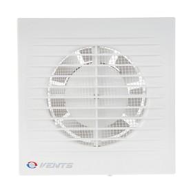 Вентилятор вытяжной VENTS 100 С К,  d=100 мм, 220-240 В, с обратным клапаном, цвет белый