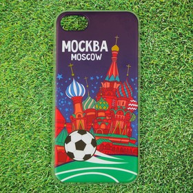 """Case for iPhone 7 phone """"Moscow"""" (St. Basil), 7 x 14 cm"""