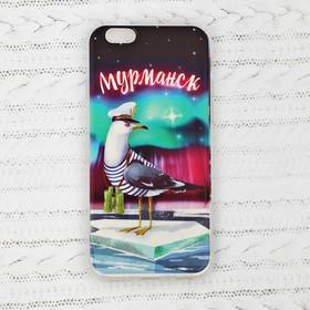 Чехол для телефона 'Мурманск' (чайка,айфон 6), 7 х 14 см Ош