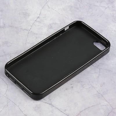 Чехол Luazon Мишки для iPhone 5/5s, силиконовый, голограмма