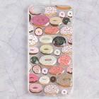 Чехол Luazon Пончики для iPhone 5/5s, силиконовый, прозрачный