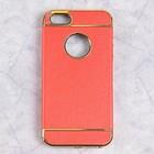 Чехол Luazon TPU для iPhone 5/5s, красный