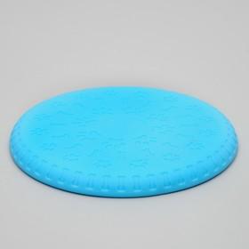 Фрисби 'Косточки и лапки', 18,6 см, термопластичная резина, микс цветов Ош