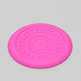 """Фрисби """"НЛО"""" , 18,6 см, жесткая термопластичная резина, микс цветов"""