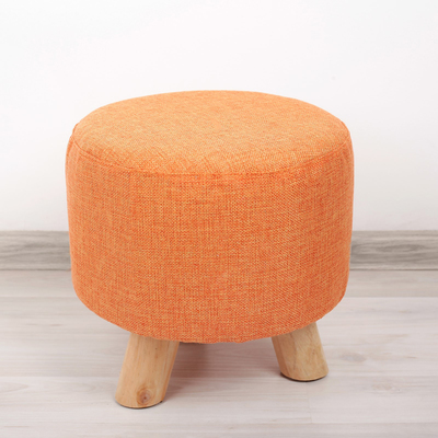 "Пуф-табурет ""Классика"", цвет оранжевый"