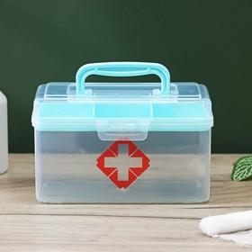 Аптечка, 15,5×9,5×8,5 см, цвет МИКС