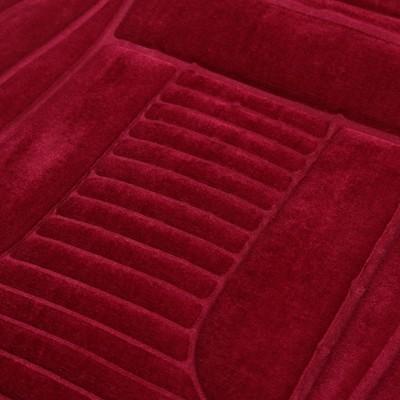 Накидка с подогревом 12 В со встроенным регулятором, велюр, красный
