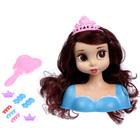 """Кукла-манекен для создания причёсок """"Принцесса"""" с аксессуарами, в пакете, МИКС"""