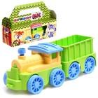 Игровой набор паровозик инерционный с вагончиком «Вжух», МИКС - фото 105645273