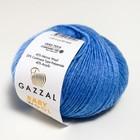 """Пряжа """"Baby Wool"""" 20% кашемир, 40% меринос. шерсть, 40% акрил 175м/50гр (813 голубой) - фото 7259209"""