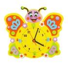 """Набор для творчества """"Создай интерьерные часы - бабочка"""", часовой механизм"""