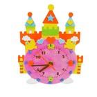"""Набор для творчества """"Создай интерьерные часы - замок"""", часовой механизм"""