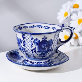 "A couple of tea ""Dream"", Gzhel"