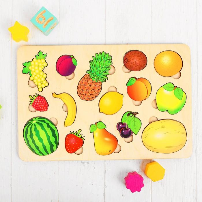Развивающая доска «Большие фрукты»