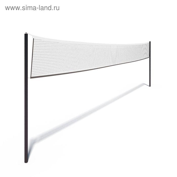 Сетка волейбольная, 2,5мм, цвет черн.