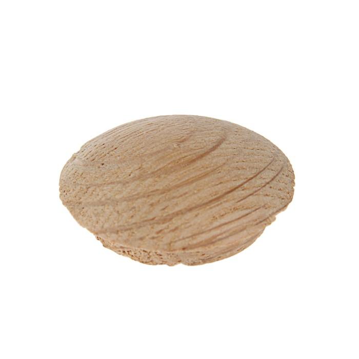 Заглушка мебельная ДУБ, диаметр 20мм