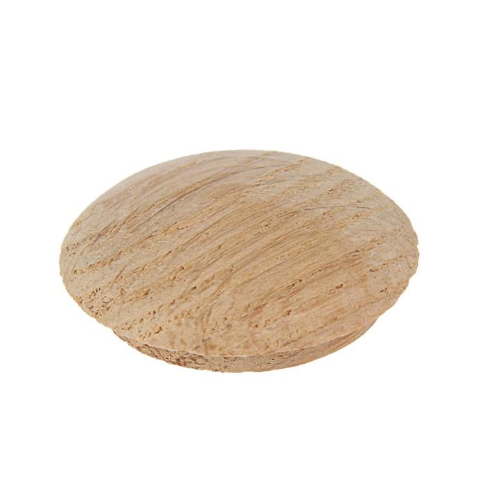 Заглушка мебельная ДУБ, диаметр 25мм