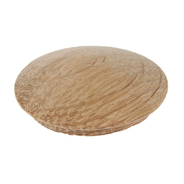 Заглушка мебельная ДУБ, диаметр 35мм