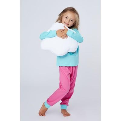 Пижама для девочек, рост 98-104 (28) см, цвет бежевый 11054