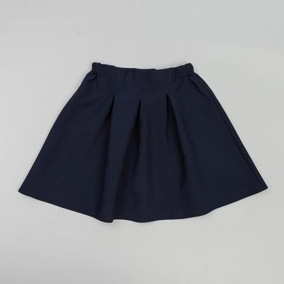 Юбка для девочки , рост 134-140 см, цвет синий ШФ 0004