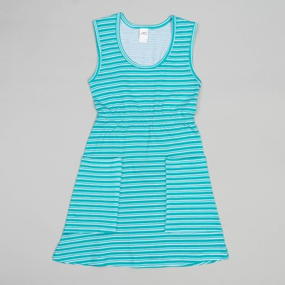 Сарафан для девочек, рост 98-104 (28) см, цвет голубой 10715