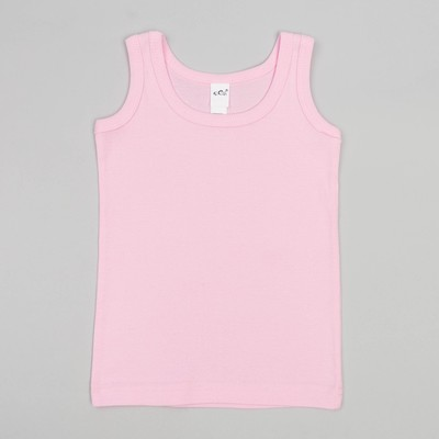 Майка для девочек, рост 98-104 (28) см, цвет розовый 10096