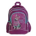 Рюкзак школьный эргономичная спинка Rachael Hale 509 Clever Kitty, 38 х 29 х 13 см, сиреневый