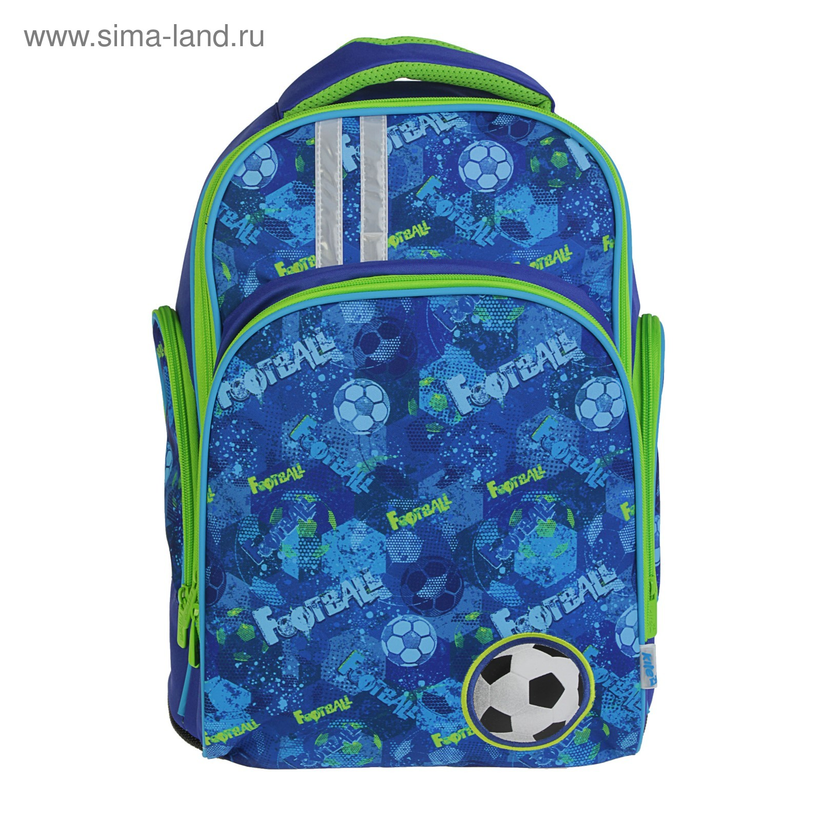 f8547434e798 Рюкзак школьный Kite 706 Football, 38 х 29 х 16 см, синий (K18-706M ...
