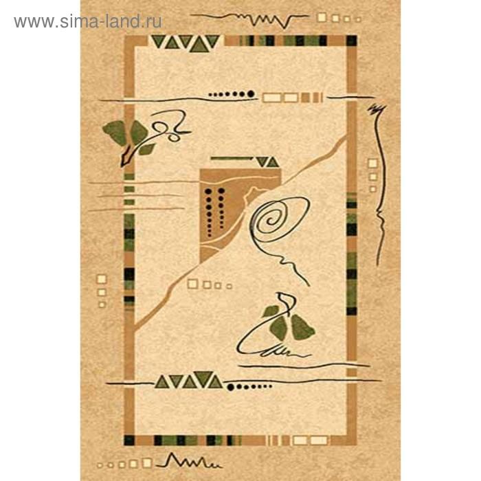 Ковёр Хит-Сет ПП VALENCIA 5305, 0,8*1,5 м, прямоугольный, CREAM
