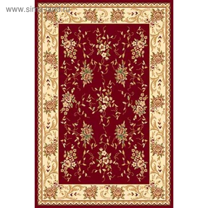 Ковёр Хит-Сет ПП VALENCIA 5455, 0,6*1,1 м, прямоугольный, RED