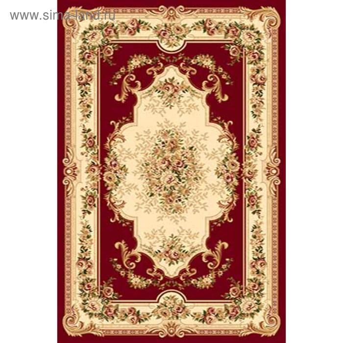 Ковёр Хит-Сет ПП VALENCIA 4015, 1,5*4 м, прямоугольный, RED