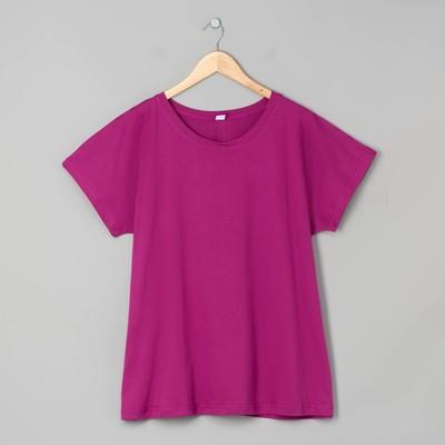 Футболка женская 31480 цвет фиолетовый, р-р 54