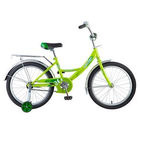 """Велосипед 20"""" Novatrack Vector, цвет зеленый"""