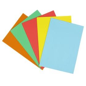 Бумага цветная А4, 250 листов «Креатив» Интенсив, 5 цветов, 80 г/м² - фото 7395722