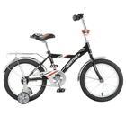 """Велосипед 16"""" Novatrack BMX, цвет чёрный"""