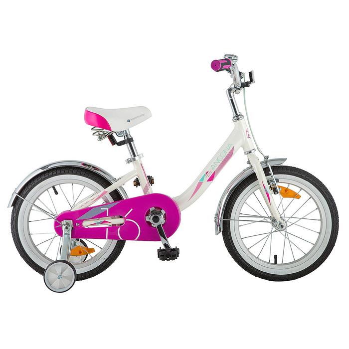 """Велосипед 16"""" Novatrack Ancona, цвет белый"""