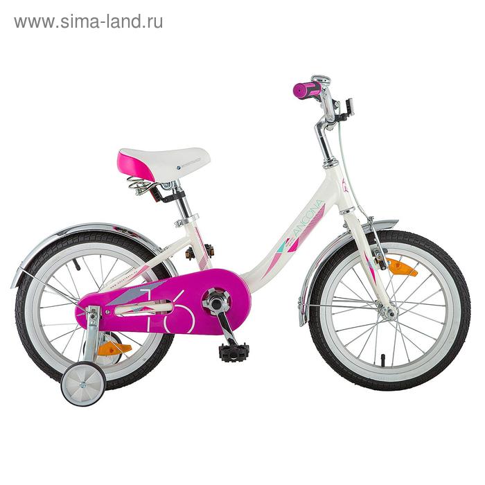 """Велосипед 16"""" Novatrack Ancona цвет белый"""