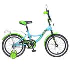 """Велосипед 16"""" Novatrack Багира, цвет синий"""