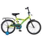 """Велосипед 18"""" Novatrack YT Forest, цвет зелёный"""