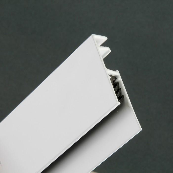 Демонстрационная система ArtiTeq: информационный рельс 100 см, белый - фото 537631638