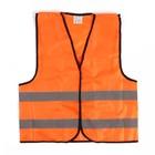Жилет текстильный Ж10, оранжевый, XXXL, ГОСТ