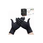 Нитриловые черные перчатки EcoLat XL, 10шт
