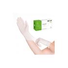 Латексные перчатки EcoLat белые неопудренные L, 100 шт