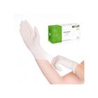 Латексные перчатки EcoLat белые неопудренные XL, 100 шт