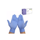 Нитриловые перчатки фиолетовые M, 100 шт
