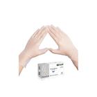 Виниловые перчатки белые EcoLat S, 100 шт