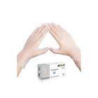Виниловые перчатки белые EcoLat M, 100 шт