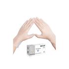 Виниловые перчатки белые EcoLat XS, 100 шт